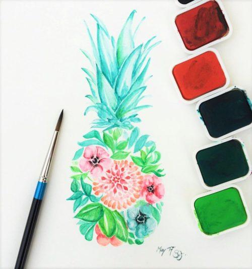 PaintEvents-Pineapple