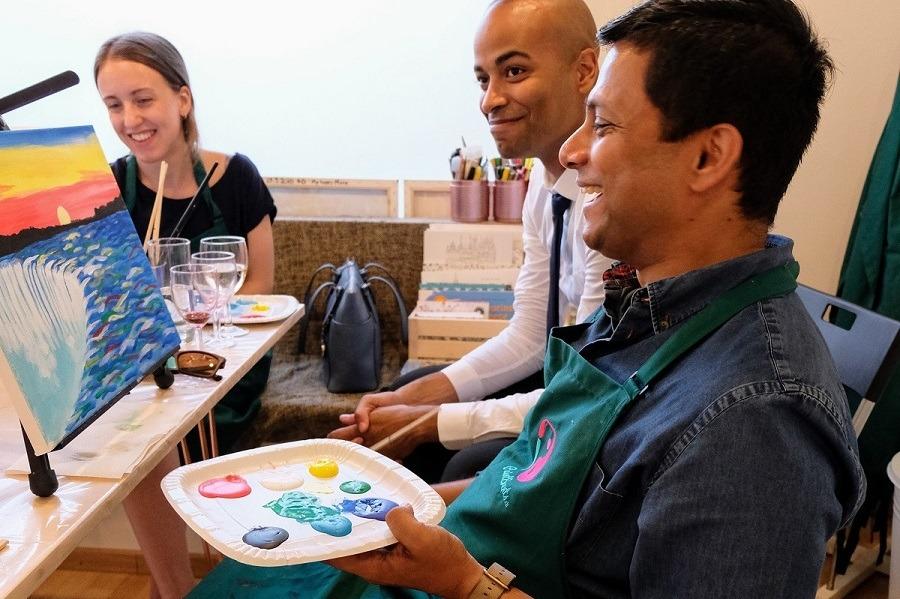 Private Paint Events Team Building Paintevents Ch