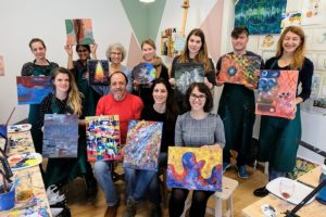 PaintEvents Abstract Painting Workshop