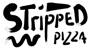 Stripped Pizza Logo
